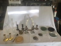Various Candle holders and misc Columbia, 21044