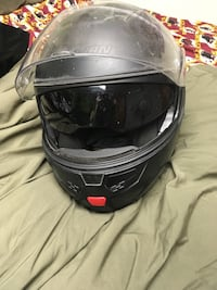 Motorcycle helmet with built in sunglasses  Brunswick, 21716