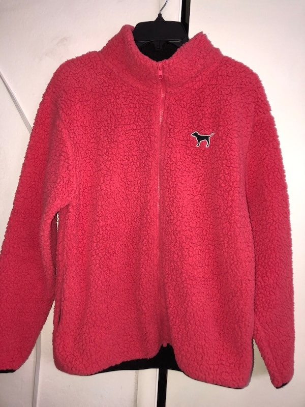 Used Victorias Secret Pink Fuzzy Sweater For Sale In Hayward Letgo
