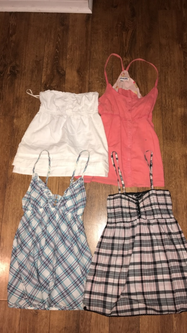 Women's assorted spaghetti strap tops