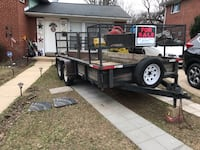 Landscaping open Trailer 2009  6'x14 Silver Spring, 20906