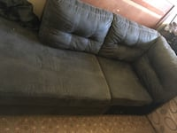 Brown leather 2-seat sofa Kenner, 70065