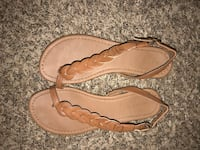 pair of brown leather sandals Nashville, 37221