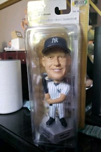 Mickey Mantle bobble head with card Warwick