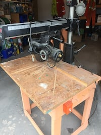 Radial Arm Saw Nobleton, L0G 1N0