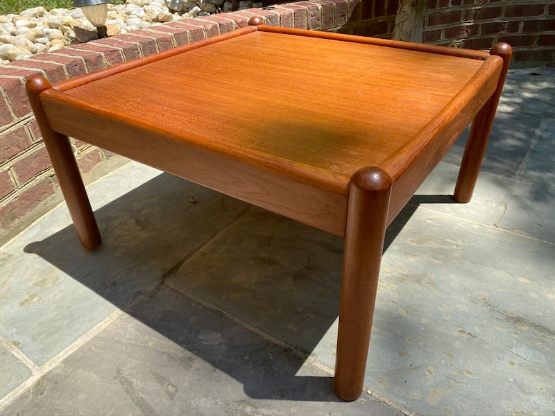 *Price Reduced* Large Teak MidCentury Coffee Table cb048852-c991-47d8-806a-a64d4c2c28fa