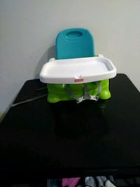 baby's white and green feeding chair San Jose, 95134