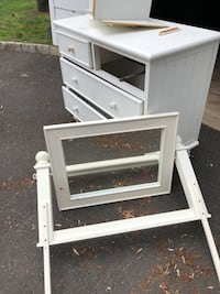 Free pottery barn chest and mirror