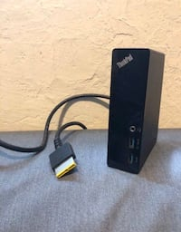 Lenovo X1 Csrbon dock and charger $65 2388 mi
