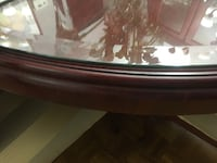 Round dining table tempered glass protection  Richmond Hill, L4B