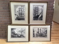 Signed Ship Etchings Hillsboro, 97124