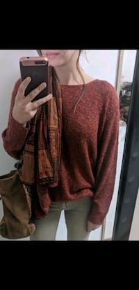Zara rust lightweight sweater Toronto, M1L 1V6
