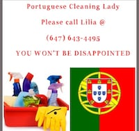 Portuguese House cleaning lady Vaughan