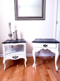 Set of side tables / nightstands