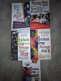 Lot of 5 All Chicken Soup For The Teenage Soul Bks Fayetteville, 28311
