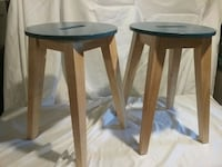2 blue stools Rochester, 02770