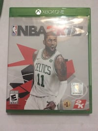 Nba 2k18 xbox one game with case Omaha, 68107