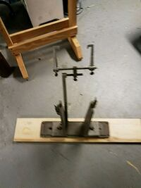 Vintage bicycle truing stand