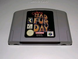 New Conkers Bad Fur Day N64