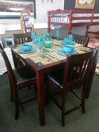 Marbletop Dinette Set 40.00 Down West Columbia, 29169