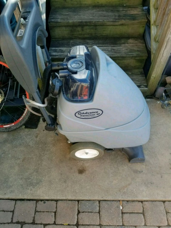 white and black pressure washer
