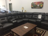 7 piece power reclining sectional with usb  Elgin, 60120