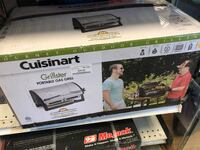 New! Cuisinart Grillster Portable Gas Grill San Leandro