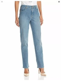 G. V. Amanda Chelsea Wash Missy Jean H Fit Classic Rise Tapered L 8 S Whittier, 90602