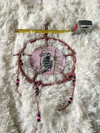 Hand painted deerskin dream catcher Toronto, M2M 3V3