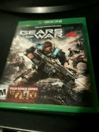 Gears of war 4. Xbox one. Excellent condition  Stuart, 34997