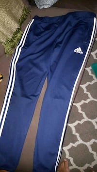blue and white Adidas track pants Pickering, L1V 6Z8