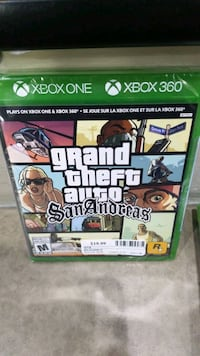 XBOX ONE GRAND THEFT AUTO GAME @BUY AND SELL KINGS (AJAX) Ajax, L1S 3V4