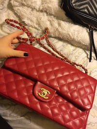 Red purse Chanel  Corona, 92879