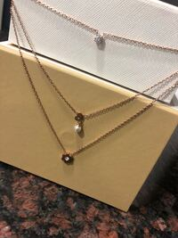 Michael Kors rose gold necklace Rockville, 20852