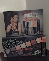 Mascara/eyeshadow kit with brush Toronto, M9C 1L6