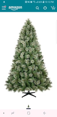 7.5 Christmas tree perfect condition  Silver Spring, 20904