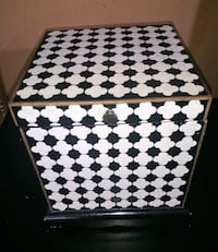 Black and White wooden box Athens, 30601