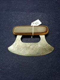 brown and black wooden handle ulu Sabin, 56580