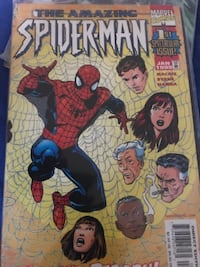 The Amazing Spider-Man comic book Newark