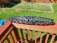 Infiniti g35 front grill