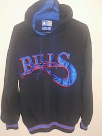Vintage Medium Buffalo Bill's Starter Hoodie