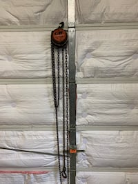 Half ton chain hoist Marriottsville, 21104