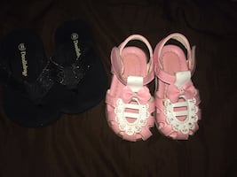 Toddler Sandals and Flipflops (Pick Up)