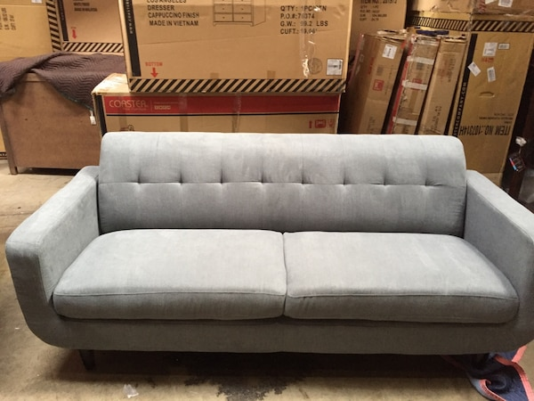 Beautiful New Tufted Sofa Only 499