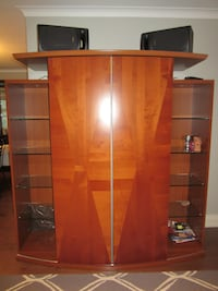 ALF Group Modern Lacquered Wood Entertainment Unit Toronto