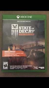 State of Decay for Xbox One Mount Morris, 48458