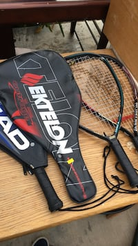 Tennis Rackets (7 each)
