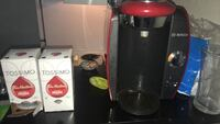 Tassimo. Comes with a box of tims coffee and some other coffee and tea. Pick up only  Calgary, T2L 2B6