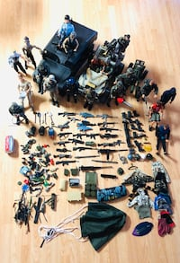 "MacToys/Hasbro G.I Joe Army Set 1/6 Scale, 12"" Figure! Huge lot!"