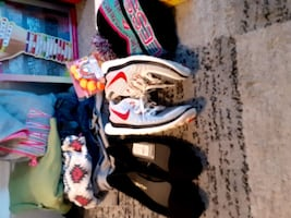 Girls size 12 clothes, shoes and toys.
